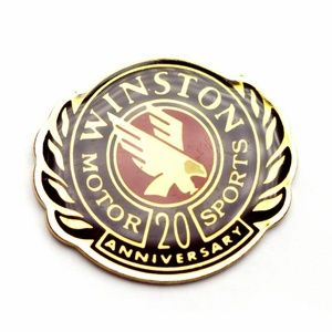 Winston Motor Sports 20th Anniversary Lapel Pin